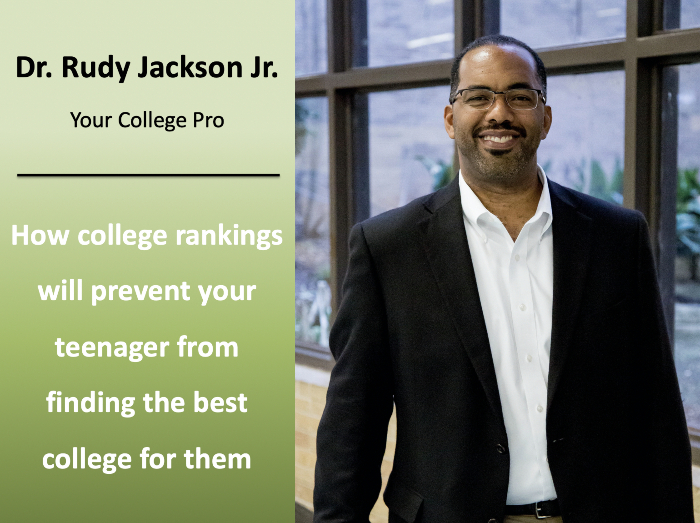 How college rankings will prevent your teenager from finding the best college for them