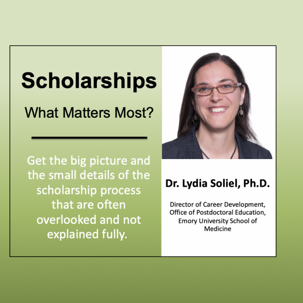 Scholarships. What Really Matters?